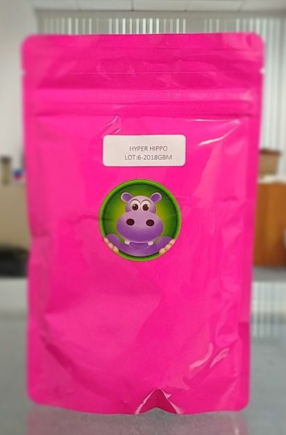 Happy Hippo Herbals Maeng Da Elite Green (Hyper Hippo) Kratom Strain
