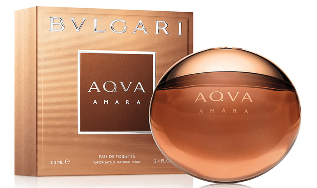 Bvlgari Aqva Amara Bottle And Box