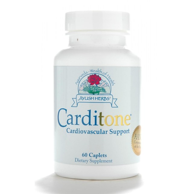 Bottle of Ayush Herbs Carditone