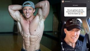 Steve Cook admits he's not a natural