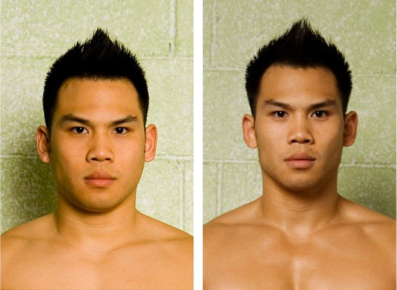 Fat Loss Face Transformation Before And After
