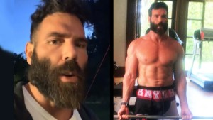 Dan Bilzerian working out