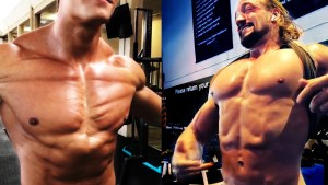 Alien Gains - Chest and abs muscle spasm