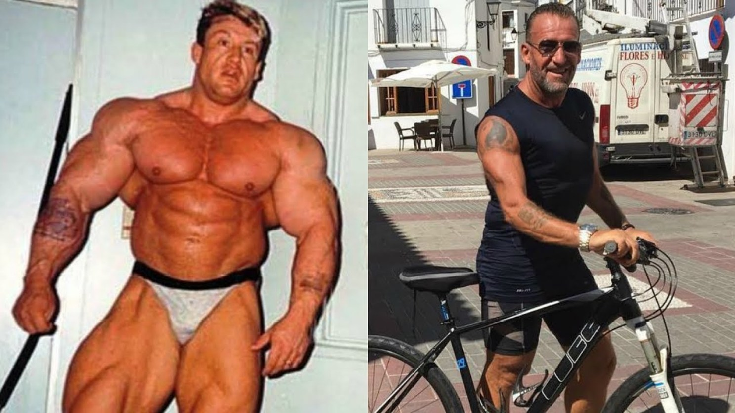 Dorian Yates Before And After Retiring From Professional Bodybuilding