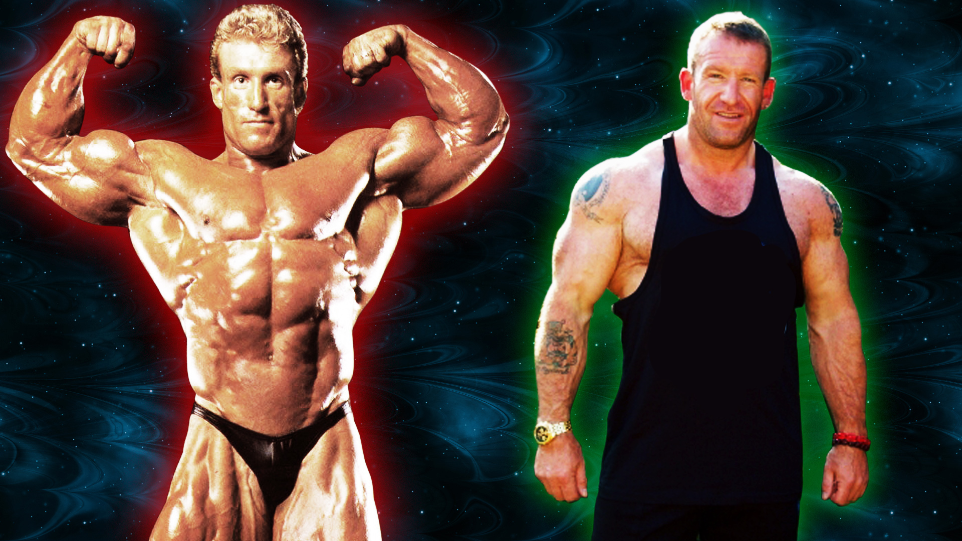 Dorian Yates body then and now pictures