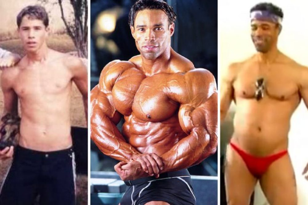 Kevin Levrone before and after bodybuilding