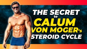 Calum Von Moger after recovering from injury. What's the secret to Calum Von Moger gaining muscle back so quickly?