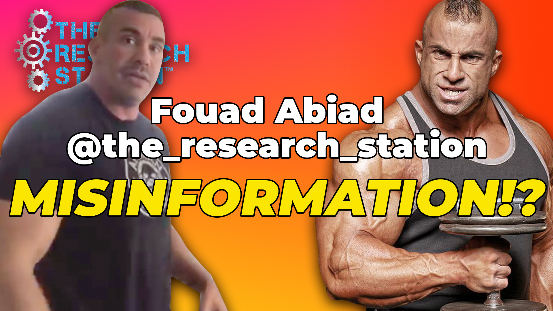 Mike From The Research Station And Fouad Abiad Thumbnail