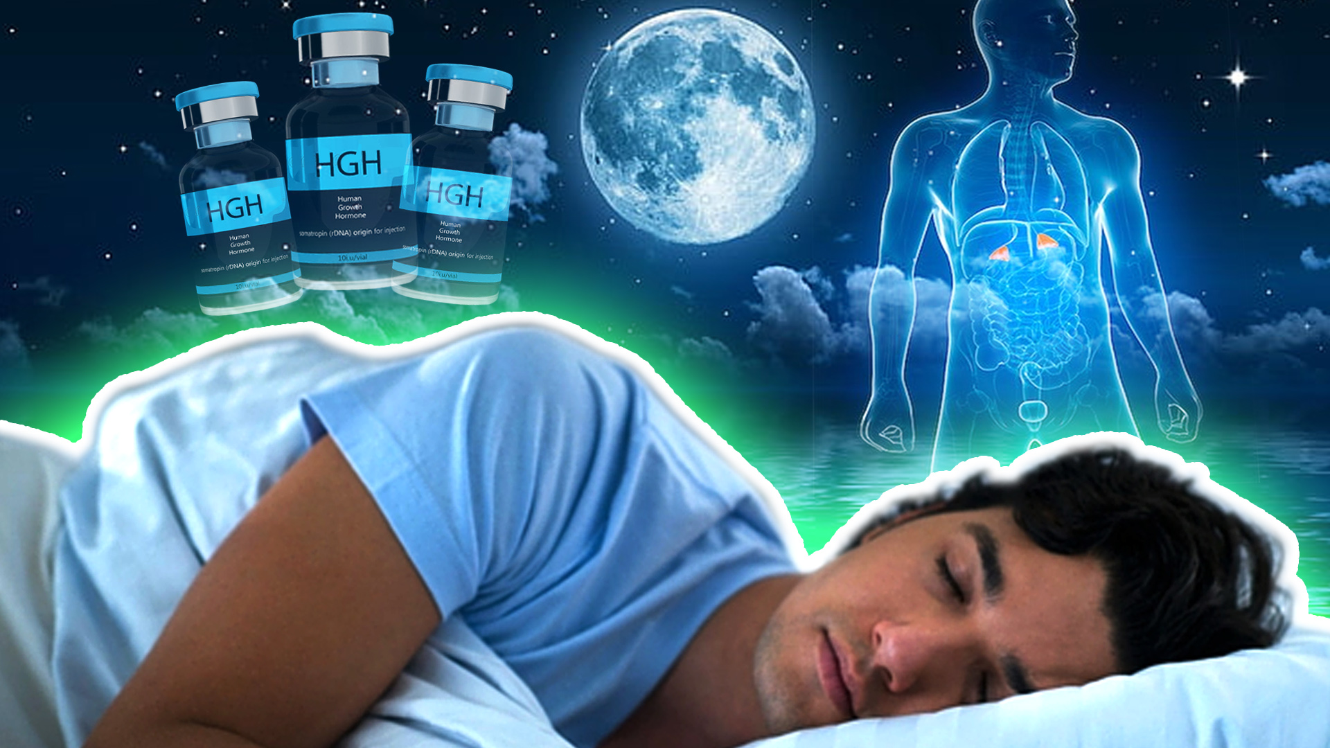Taking GH before going to sleep effect in GH production during sleep, will it suppress natural production?