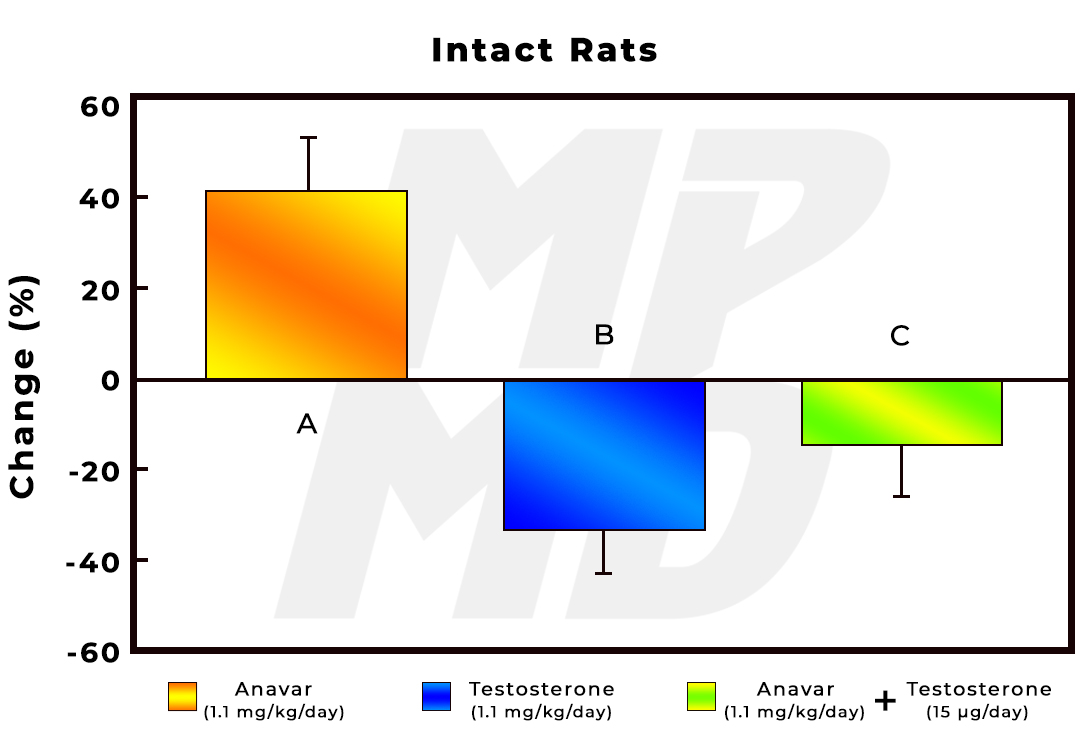 Anavar, Testosterone and Anavar + Testosterone Effect On Immune Function