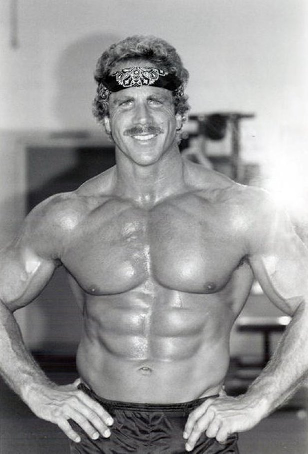 Ric Drasin Bodybuilder Physique From The Golden Era