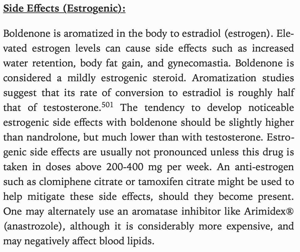 William Llewellyn - Anabolics - Boldenone Estrogenic Activity