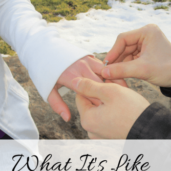 Engagement... What It's Like From My Perspective