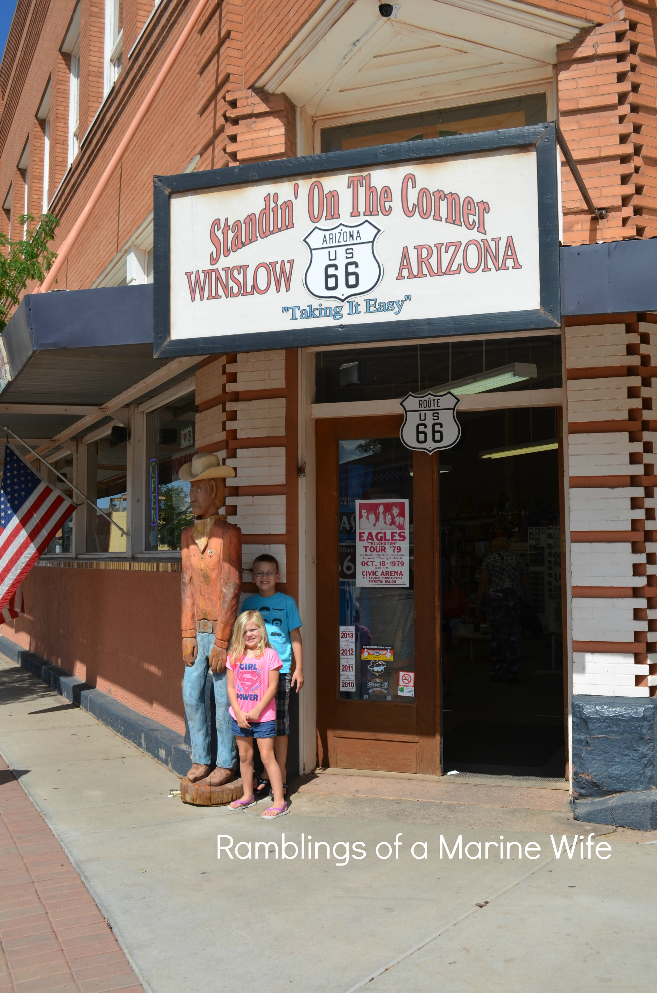 standing on a corner in winslow arizona nothing but room. Black Bedroom Furniture Sets. Home Design Ideas