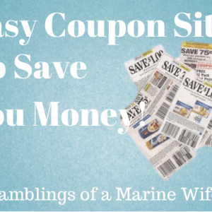 Easy Coupon Sites To Save You Money