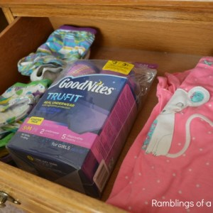 Keeping My Big Girl's Confidence With GoodNites® TRU-FIT® & A Giveaway