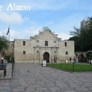 The Alamo and The Riverwalk