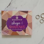 ESSENCE SHAPE & SHADOWS EYE CONTOURING PALETTE REVIEW