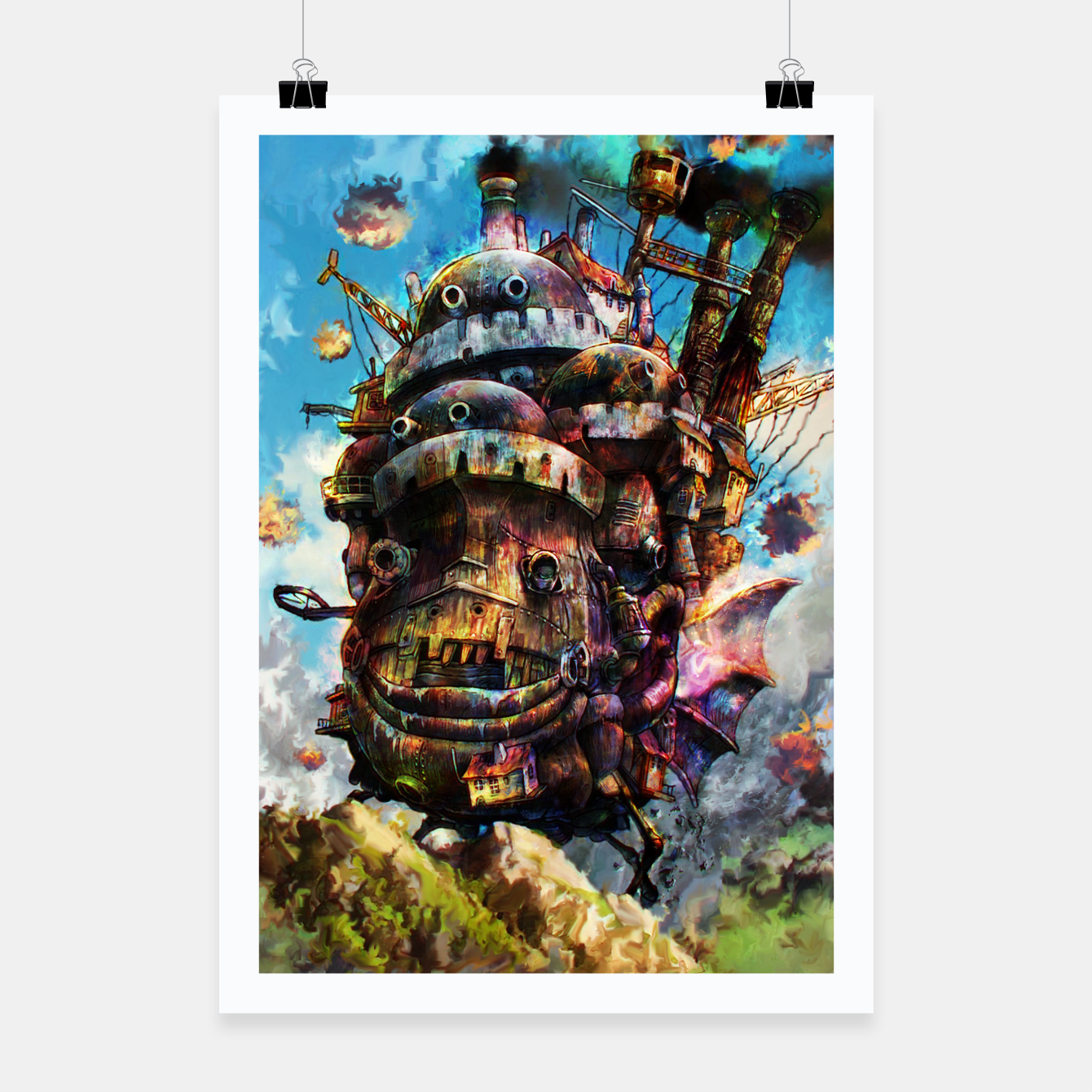 howl s moving castle poster live heroes