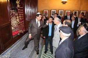 שיקום בית הכנסת בפאס