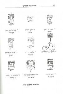 """חתימת הרבנים ז""""ל"""