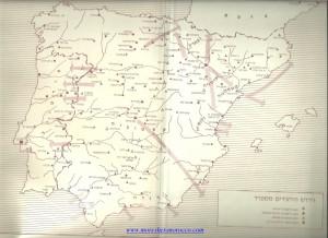 מפת גירוש ספרד