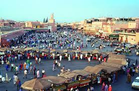 כיכר ג'מע אל פנא בעיר מראכש