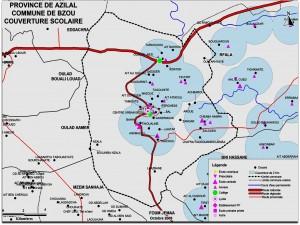 מפה אזורית