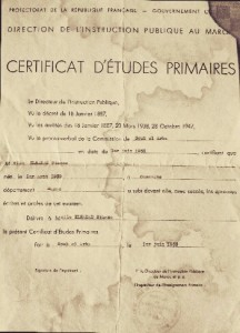 certificat d'etudes
