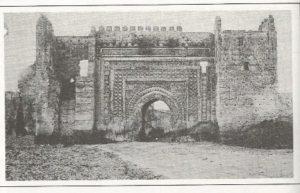 שער המללאח בפאס בתחילת המאה