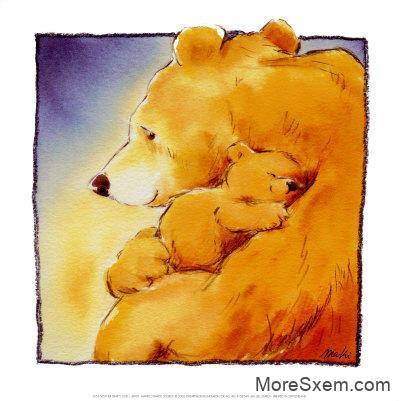 Мама медведица