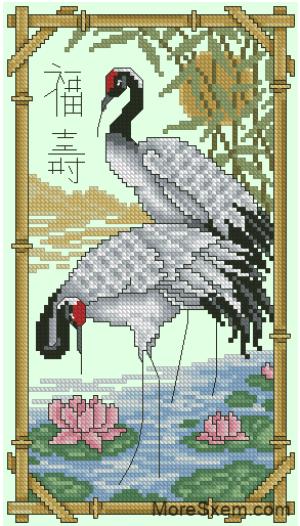 Священная птица Востока
