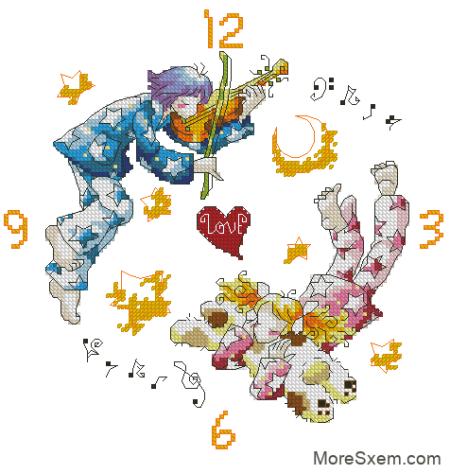 Часы из серии Любовные истории