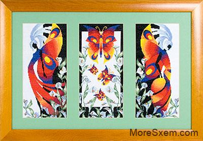 Триптих Бабочки