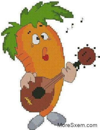Певица Морковь
