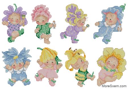 Малыши-цветочки