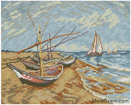 Лодки (Ван Гог)