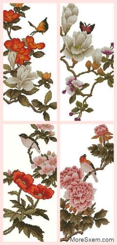 Серия с цветочками