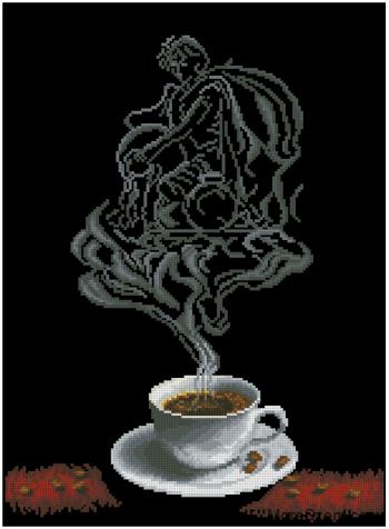 Зодиак в чашке. Водолей