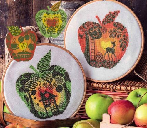 Серия яблоки (4 схемы)