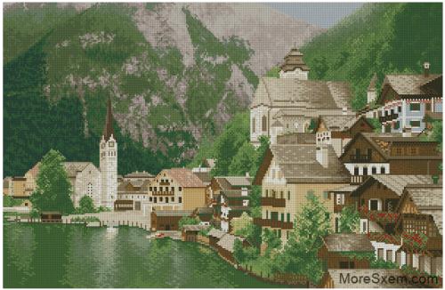 Пейзаж Австрии