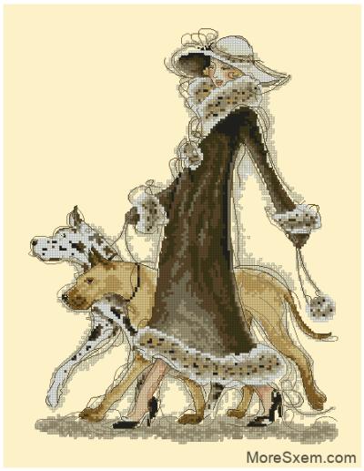 Дама с собачками (Доги)