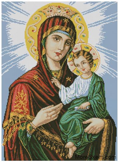 Икона Божией Матери (Иверская)