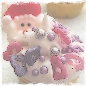 Festive soap Fairy cake