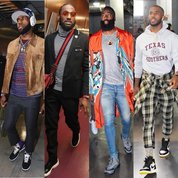 NBA Fashion Opening Week 2018-2019: Lebron James, John Wall, James Harden, Chris Paul & More