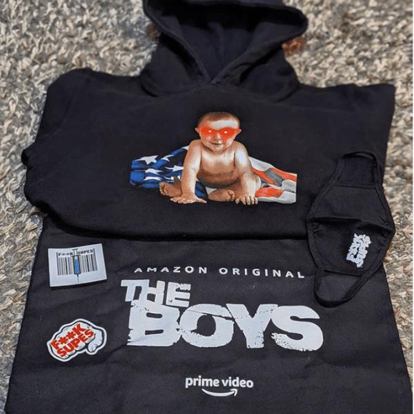 "Amazon's The Boys Season 2  ""Hero Pack"" Merch"