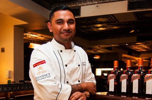 Executive Chef Sylvester Nair at Maximillien Restaurant