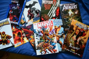 Marvel Superhero Comic Books