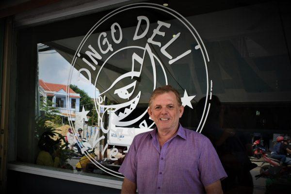 Gordon North of Dingo Deli in Hoi An