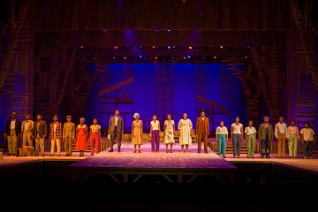 The Color Purple cast in Joburg